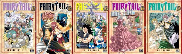 Les tomes • Fairy Tail