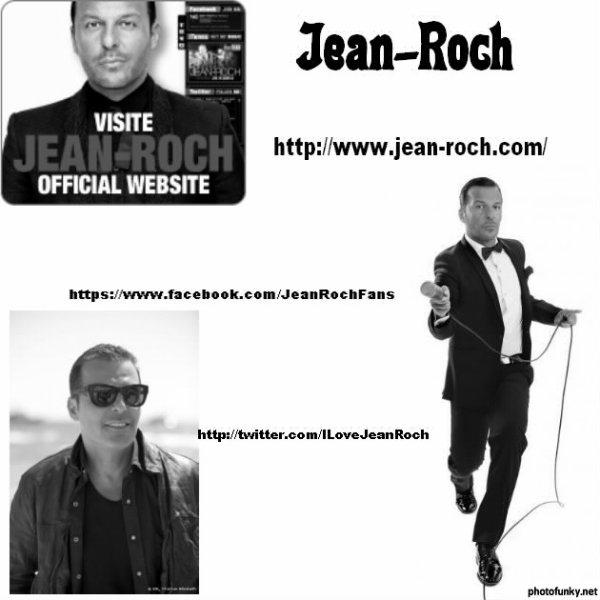 Jean-Roch adresses des sites Officiels pour le suivre partout