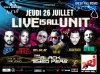 "Attention Événement Le 26 juillet dans le sud de la France au Castellet "" circuit Paul Ricard "" BILLETTERIE SUR CE SITE MERCI www.liveisallunit.com/billetterieJe vous invite à la plus grosse soirée en plein air un concert énorme avec des stars énormes pour un show de 7 heures non stop retrouver : JEAN-ROCH , WILL.I.AM & APL.DE.AP FROM BLACK EYED PEAS, STEVE ANGELLO from SWEDISH HOUSE MAFIA, ERICK MORILLO ET LE GROUPE MAINSTREAM. UNE SOIRÉE DE FOLIE A NE PAS MANQUER"