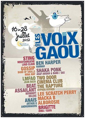 JEAN-ROCH & LMFAO EN CONCERT LE 21 JUILLET  ( LES VOIX DU GAOU ) Six-Fours Les Plages dans le Var  ( 83 )