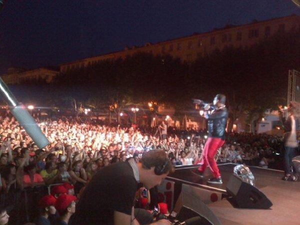 Jean-Roch concert en Corse ce soir  avec NRJ  CORSICA PARTY  2012