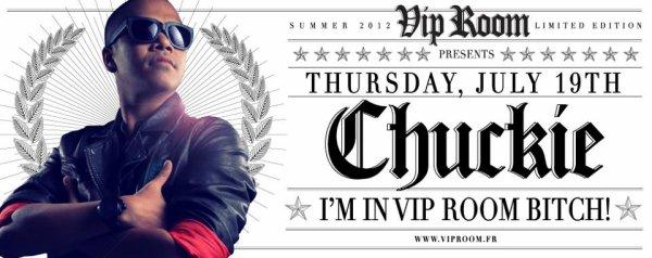 """C'est ce soir  Chuckie exclusive """"I'M VIP ROOM"""" Saint-tropez B*TCH party"""