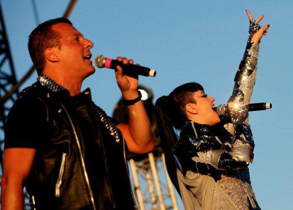 """Jean-Roch & Tara McDonald festival """" Les Voix Du Gaou """" le 21 juillet 2012"""