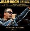 JEAN-ROCH SON PREMIER CONCERT A PARIS LE 8 SEPTEMBRE AU LOFT METROPOLIS PLUS D'INFOS EN SUIVANT CE LIEN MERCI