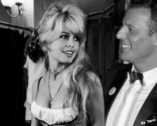 Brigitte Bardot & Jean-Roch Pedri ( photo montage By Tarra ) Le noir et le blanc