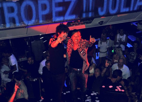 "JULIAN PERRETTA & JEAN-ROCH  ON VIPROOM ST-TROPEZ STAGE !! NEW SINGLE ""NAKED"" OUT TODAY!!"