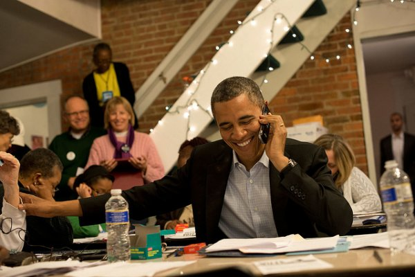 Belle Victoire De Barack Obama bravo