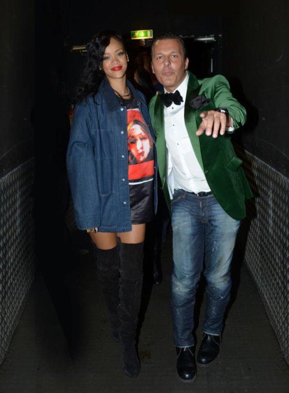 Jean-Roch & Rihanna Paris Vip Room