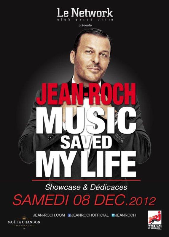 Jean-Roch en showcase A Lille