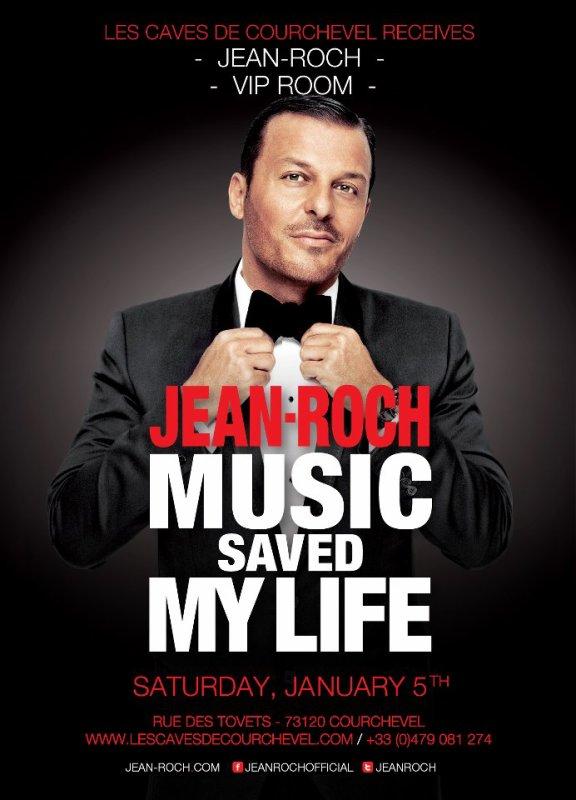 """Jean-Roch  Le 5 Janvier 2013  En Live  à Courchevel Au Night Club """" Les Caves de Courchevel """""""