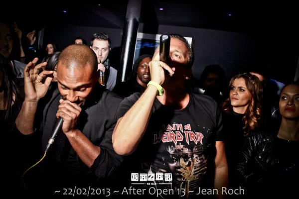 Jean-Roch Au Bazar IceClub Marseille Le 22/02/2013 After Open 13 Avec Moody Mike & Jean-Claude Mendossa