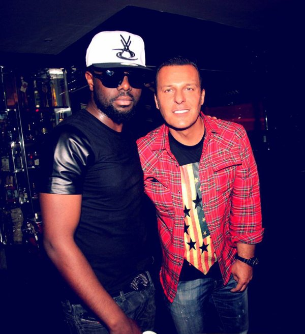 Maitre Gims & Jean-Roch At Vip Room Paris