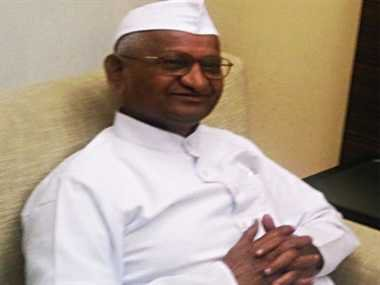 Kejriwal is hungry for power, not concerned about country: Anna