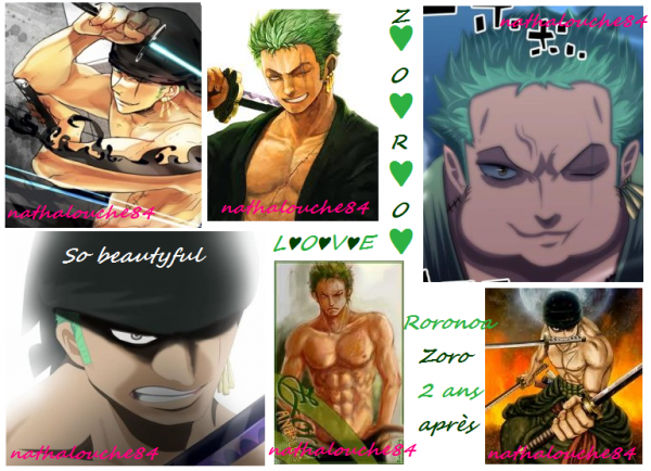 I LOVE RORONOA ZORO !!! And you ??