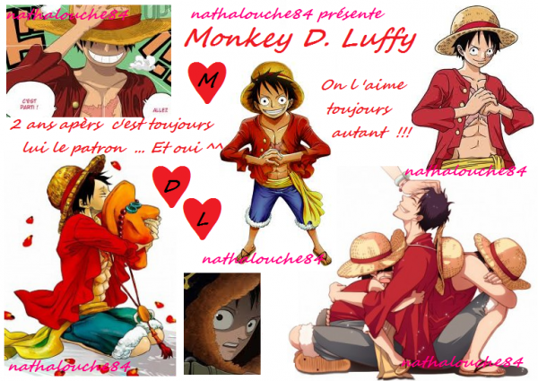 I LOVE MONKEY D. LUFFY !!! And you ??