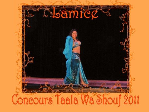 LAMICE CONCOURS TAALA WA SHOUF 2011