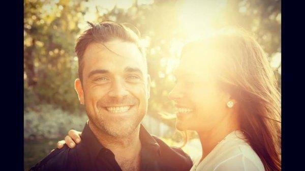 Robbie Williams et Ayda field  7ans de mariage le 7 aout 2017
