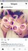 robbie et sa femme ayda en mode snapchat lol