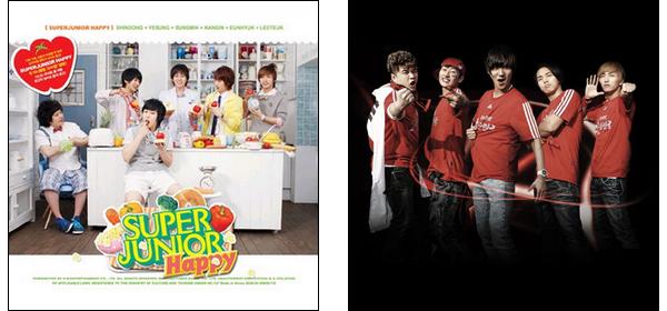 SINGLES - Super Junior Happy (vostfr)