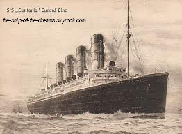 The RMS Lusitania !