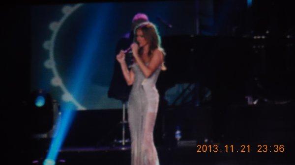 Céline Dion Anvers le 21 novembre 2013 :)