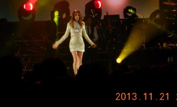 Céline Dion Anvers le 21 novembre 2013 :)  tjs mes photos