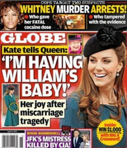 Kate Middleton : enceinte ? Tous les magazines anglais et américains en parle mais est-ce vrai ??