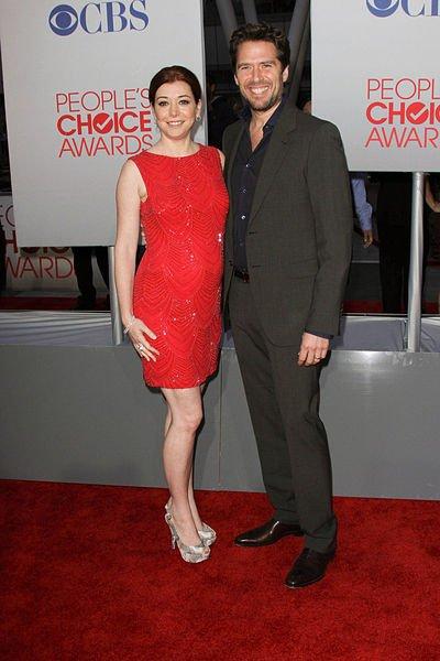 """Alyson Hannigan et son mari Alexis Denisof viennent d'accueillir leur deuxième enfant, une fille """" Keeva Jane"""" ."""