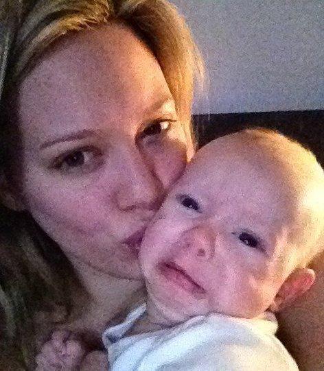 Hilary Duff, sublime après son accouchement a été vue faisant du shopping au Nike Town à Beverly Hills, Californie