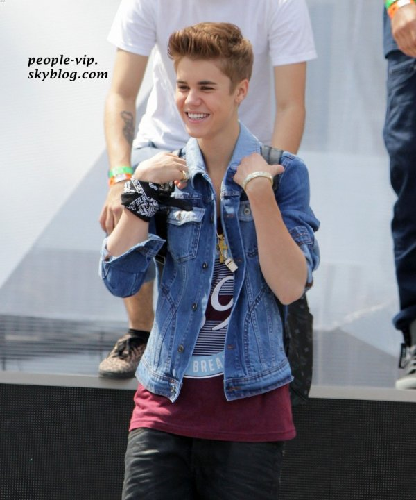 Justin Bieber aux répétitions de sa performance des MuchMusic Video Awards, à Toronto, Canada. Samedi, 16 juin