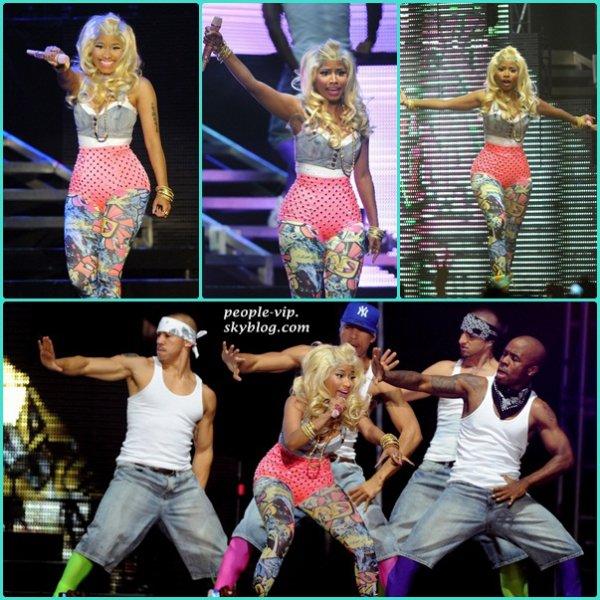 Nicki Minag a donné un concert au Heineken Music Hall à Amsterdan, aux Pays-Bas. Lundi, 18 juin