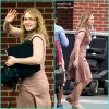 """Kate Winslet arrive sur le tournage de son prochain film """"Labor Day"""" à Boston. Mardi, 19 juin"""