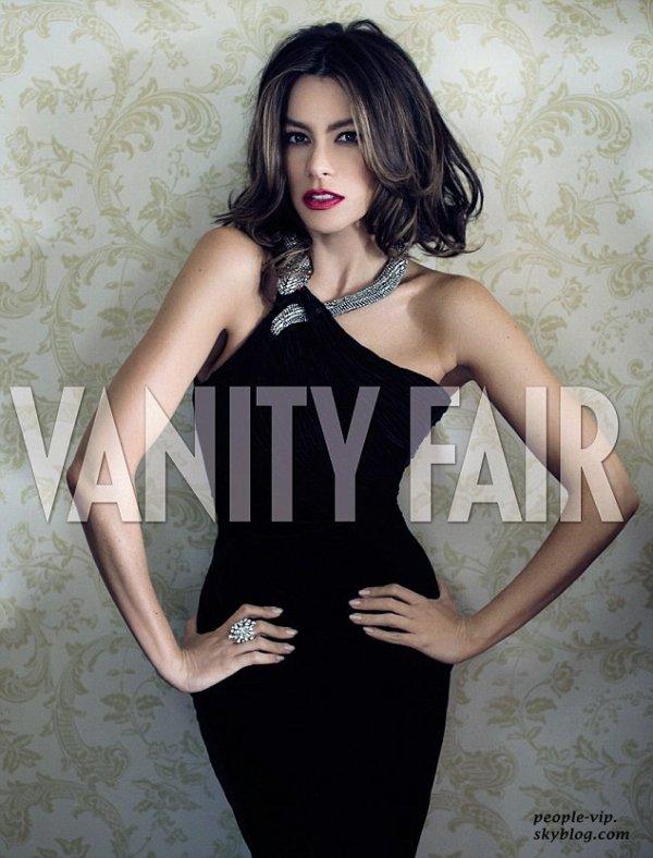 Sofia Vergara en couverture de Vanity Fair.