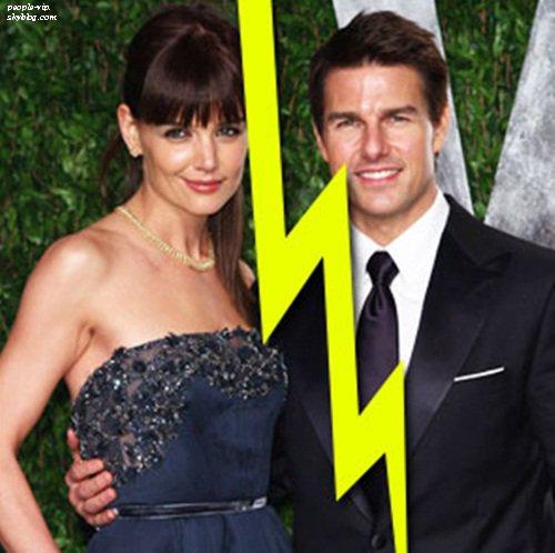 Tom Cruise et Katie Holmes : le divorce.