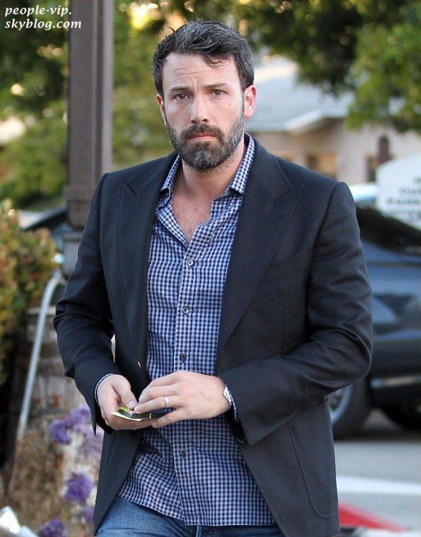 Ben Affleck dans les rues de Los Angeles. Vendredi, 29 juin