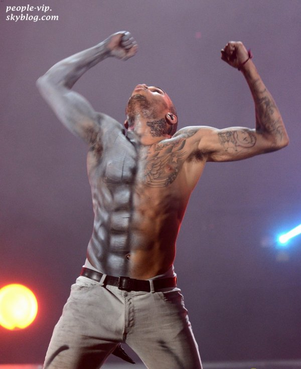 La performance de Chris Brown aux BET Awards 2012.