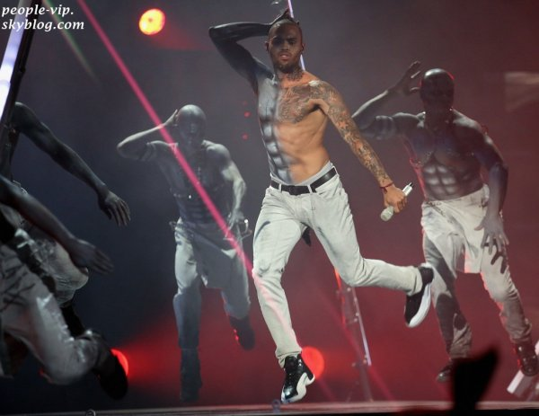 La performance de Chris Brown aux BET Awards 2012.