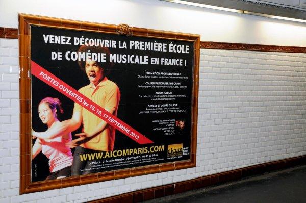 GWENDAL DANS LE METRO PARISIEN !