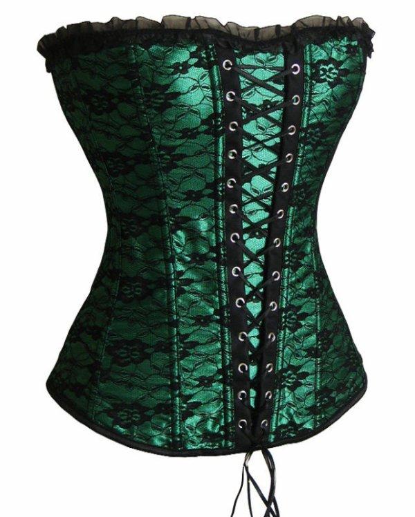 corset vert