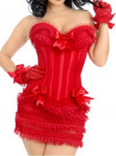 corset rouge