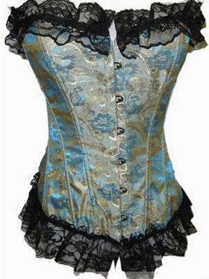 corset bleu
