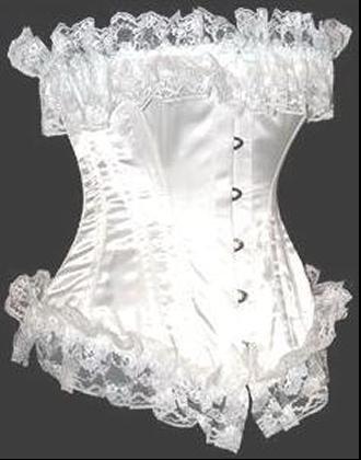 corset blanc
