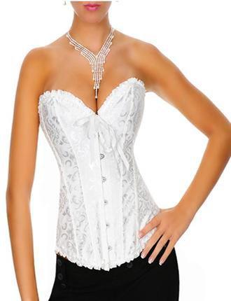 .corset blanc