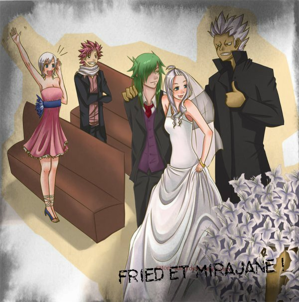 O.S Fairy Tail FriedxMirajane: