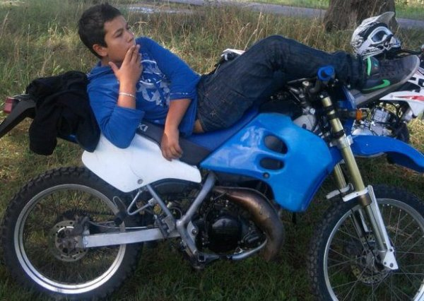 RIP a ma moto parti trop tôt..