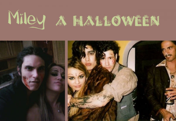 -      31 Octobre 2010 -      -----Photos-----  Miley In Halloween.  -  ----  Youtube  ---- Mileyraycyrus-france