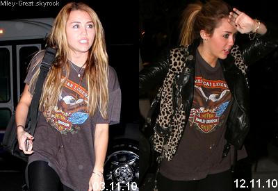 -      03 Février 2011 -      -----Candids-----  Miley retournant dans sa voiture à Beverly Hills .  -  ----  Youtube  ---- Mileyraycyrus-france