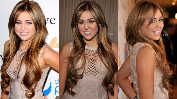-      12 Février 2011 -      -----Apparitions-----  Miley aux pré-Grammy.   -  ----  Youtube  ---- Mileyraycyrus-france