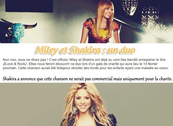 04.01.12   Miley a passé le nouvel an avec Brenda, AJ et Brandi et d'autres chez elle. -  Pas de news de notre Miley en ce moment mais que de bonnes nouvelles ! On sait déjà qu'elle à passé le nouvel an avec sa famille et des amis chez elle. Ensuite, nous avons les deux photos officielles pour la campagne NOH8. Puis, la grande nouvelle : Miley et Shakira le duo pour une cause de charité. J'ai hâte d'écouter ce duo !
