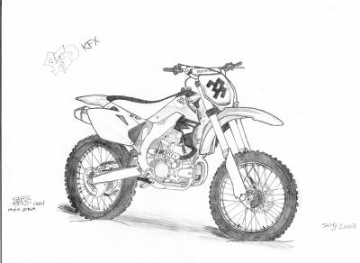 Moto cross dessins - Image de moto cross ktm ...
